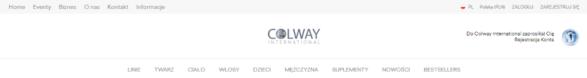 Konto Colway International
